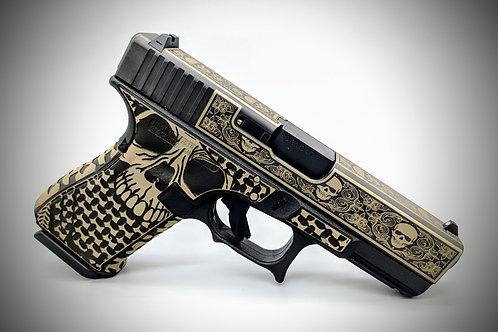 Skull Glock Pistol