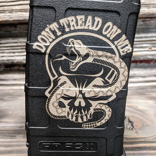 Don't Tread on Me Skull