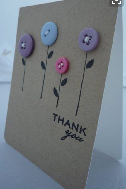 Kaart 'Thank you'