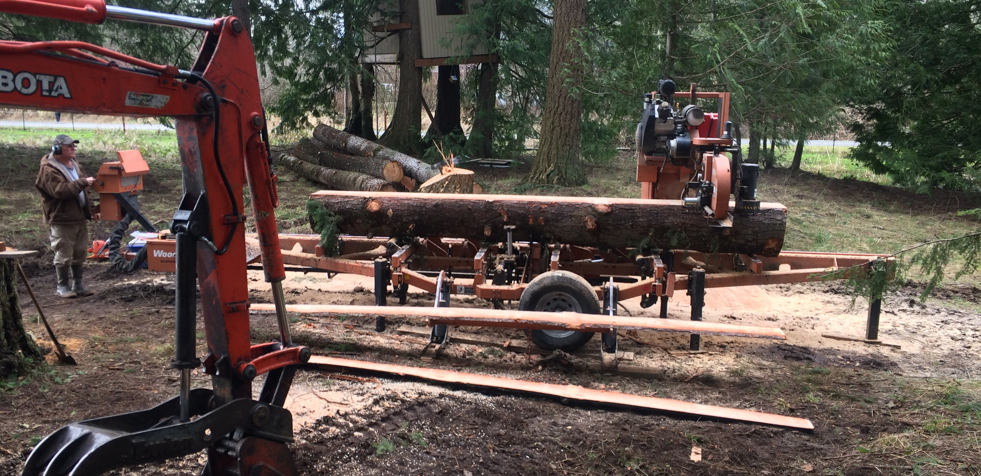 Onsite Sawmilling