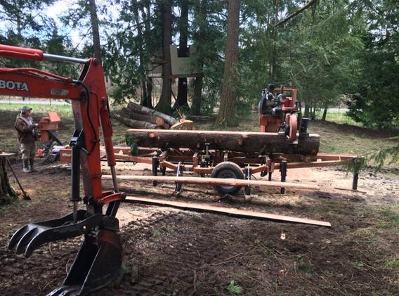 Onsite Sawmilling
