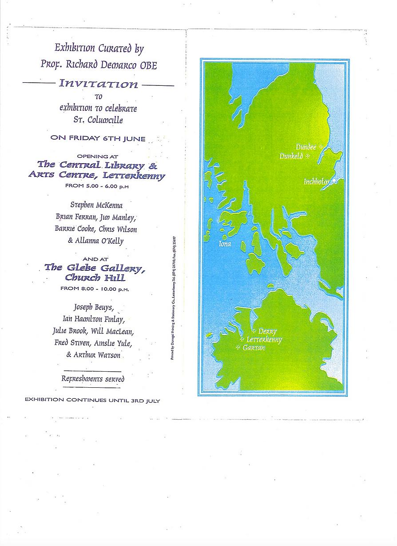 St. Colmcille 1400th - Demarco exhibitio