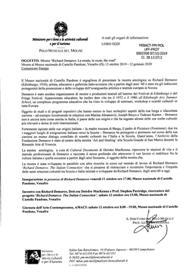 Museums of Molise - Official Statement