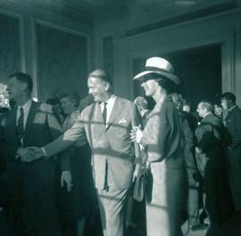 Curt Jurgens and Wife (1963)