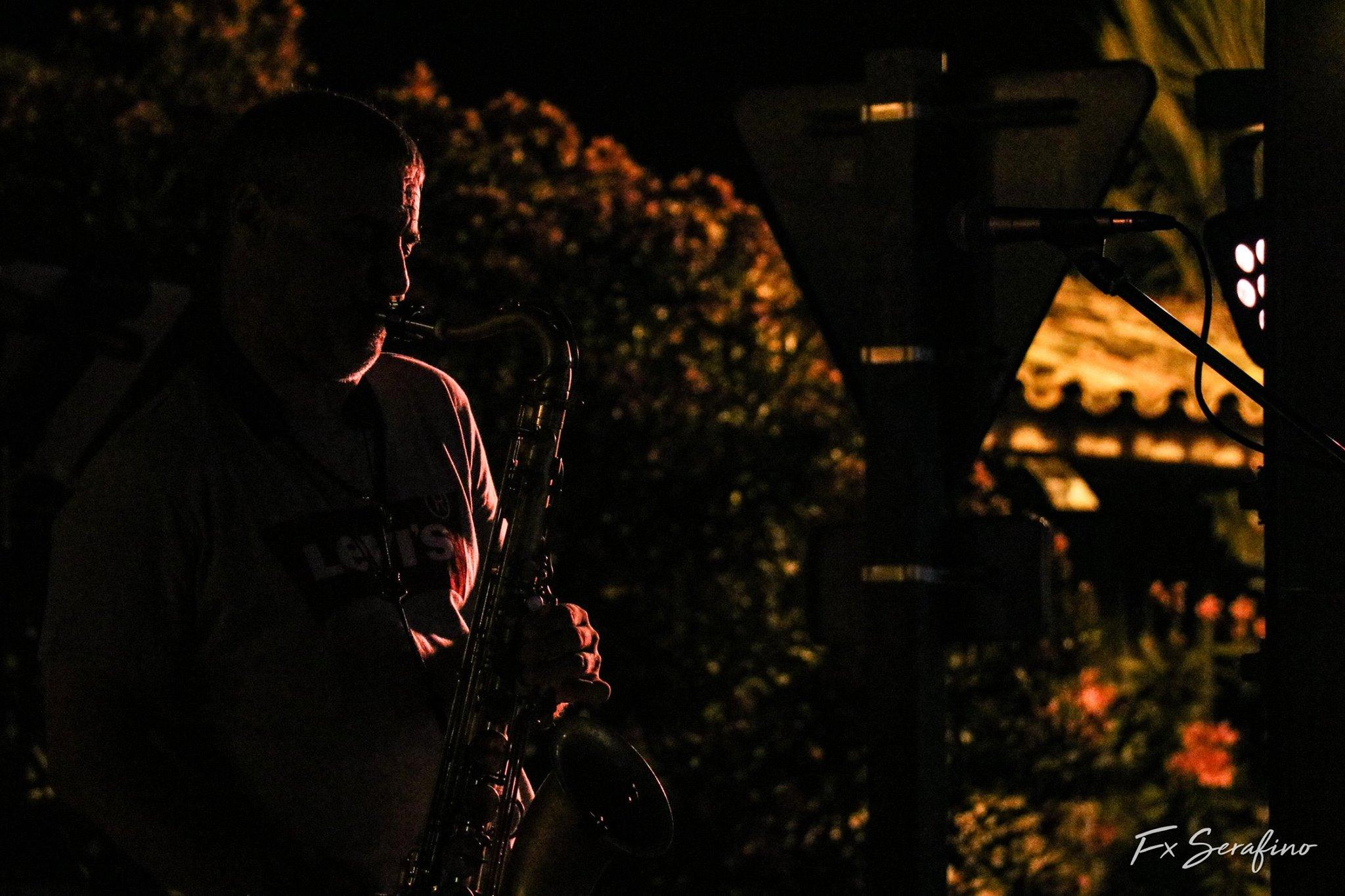 Saxophoniste Marinka