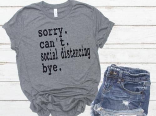 Social Distancing. Bye. - C