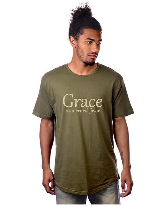 Grace Drop Tail Tee