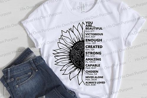 Sunflower Affirmations