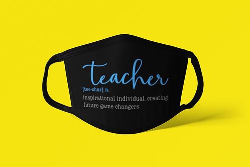 Teacher Definition Face Covering