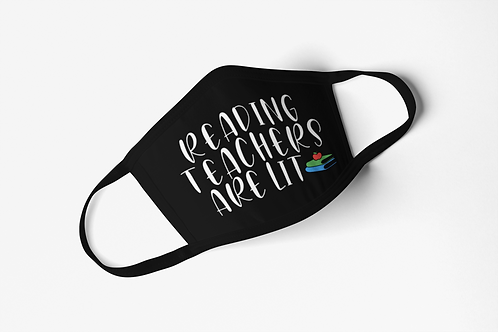 Reading Teacher Mask
