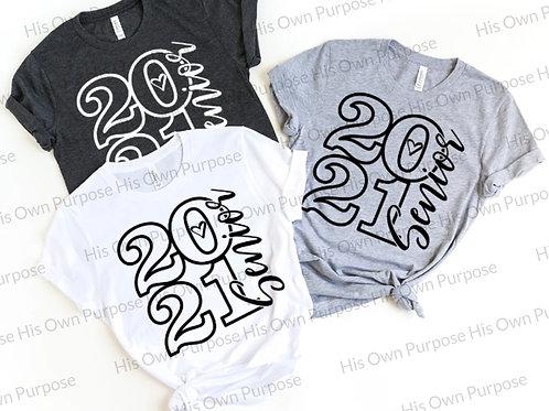2021 Senior (Black Print)-SS