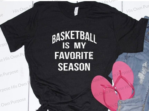 Basketball Favorite Season