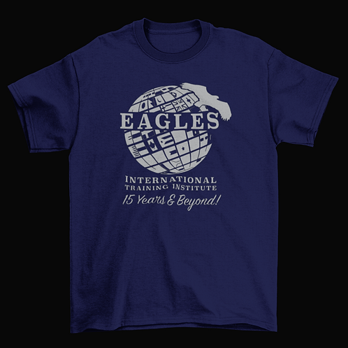 15th Anniversary Shirt (Navy / Plain)