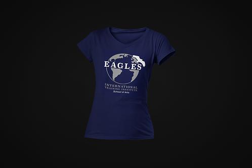 EITI School of Arts V-Neck Shirt (Blue)