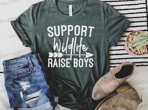 Support Wildlife...Raise boys