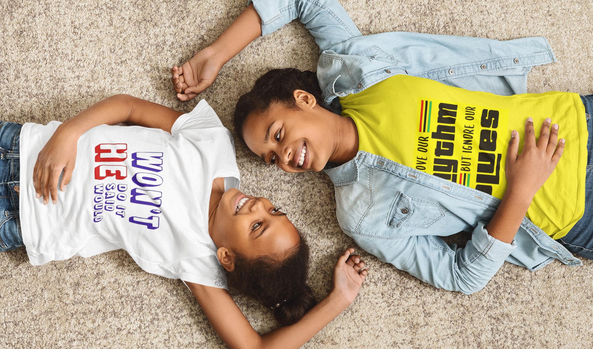 t-shirt-mockup-of-mom-and-daughter-lying
