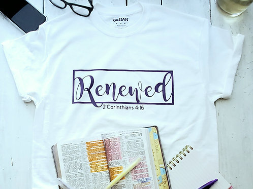 Renewed Cursive tee