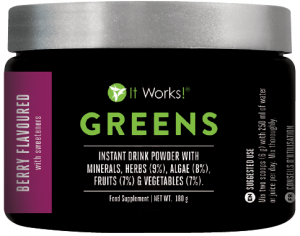 Greens Berry It works