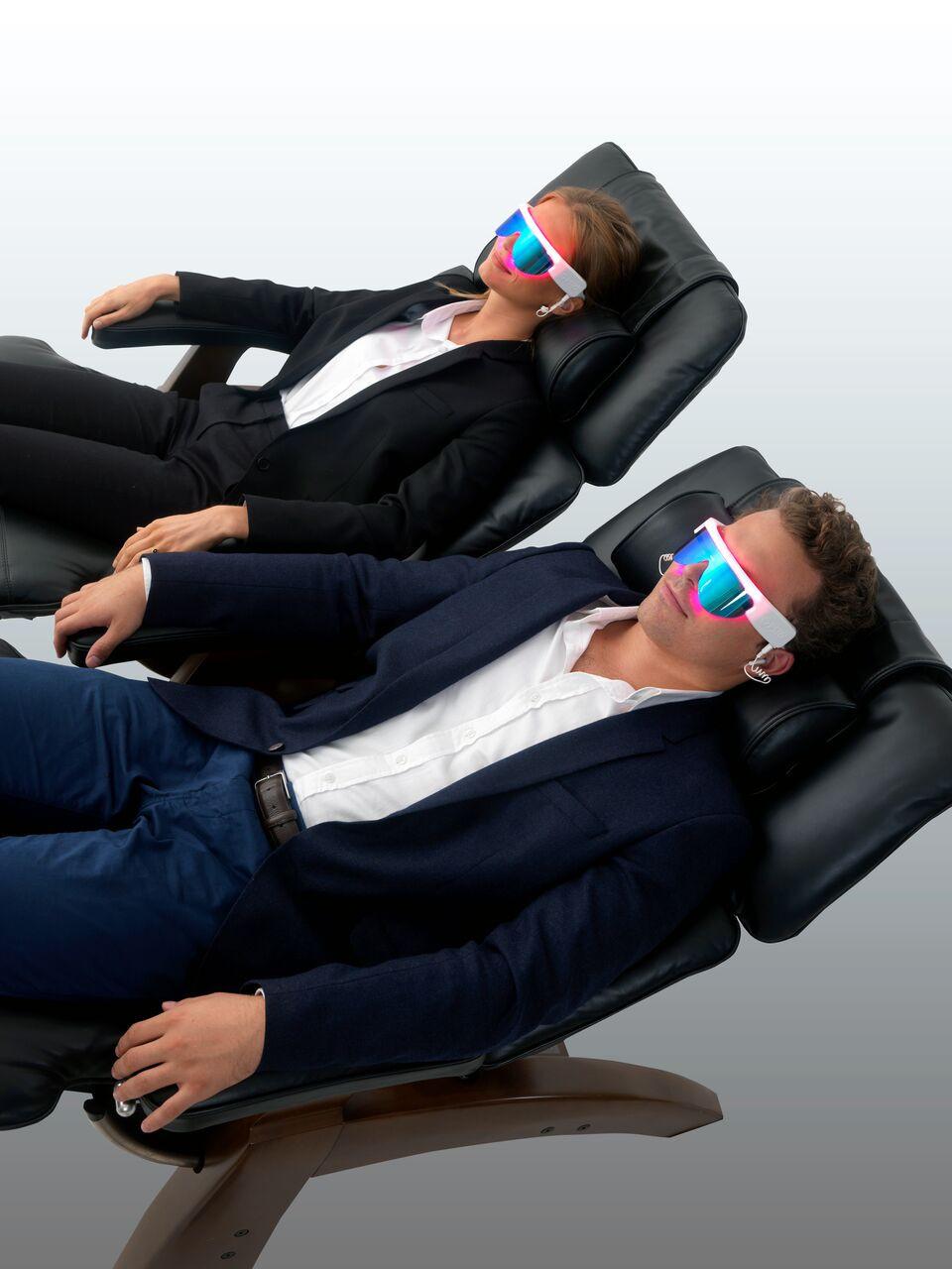 lunettes PSiO luminothérapie relaxation musicothérapie double voix prévention santé