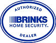 Brinks Authorized Dealer Logo - Vertical