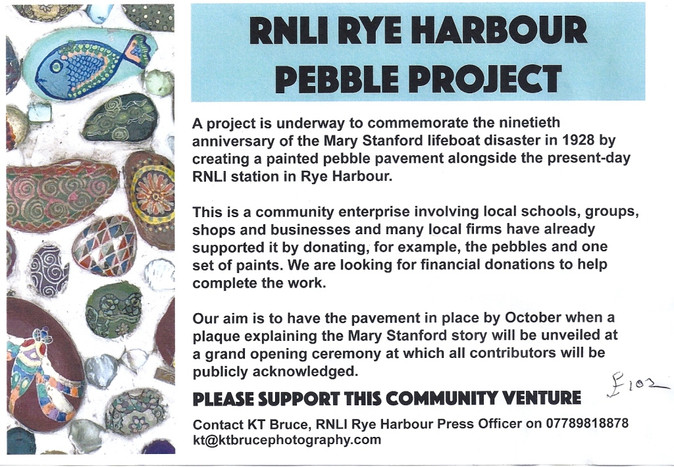 Pebble Painting Project