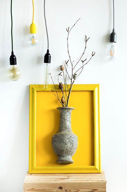 Obraz s betonovou vázou