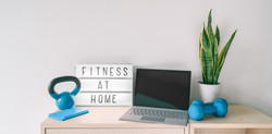 Fitness at home online personal trainer or classes