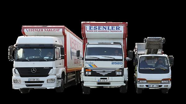 mersin evden eve taşımacılık kamyonları.