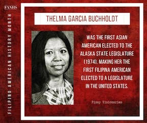 AAPI Month 2021: Thelma Buchholdt