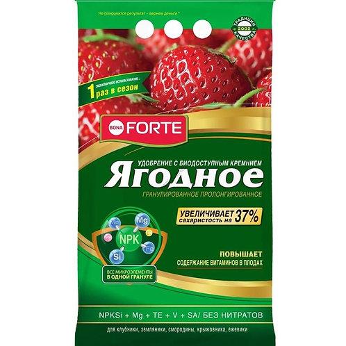 Удобрение пролонгированное BONA FORTE ягодное 2,5 кг