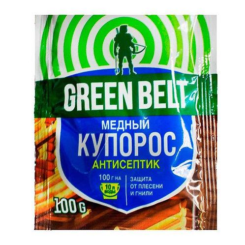 "Медный купорос ""Грин Бэлт"" антисептик 100г"