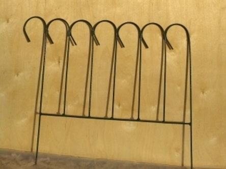 Заборчик Зиг-заг малый (1 секция)