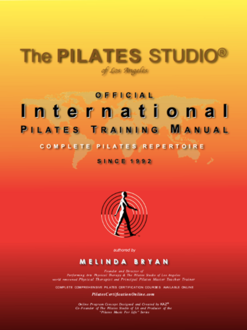 The Official Pilates Training Manuals (Complete Repertoire)