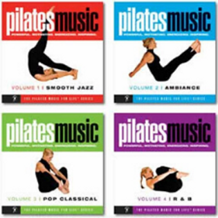Pilates Music for Life Series - 4 CD Set