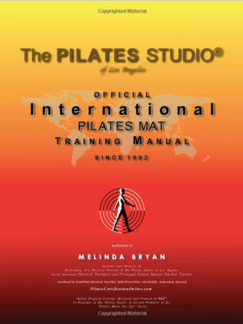 Pilates MAT Training Manual (Official Version)