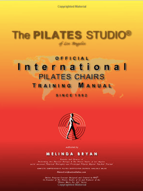 Pilates CHAIRS Training Manual (Official Version)