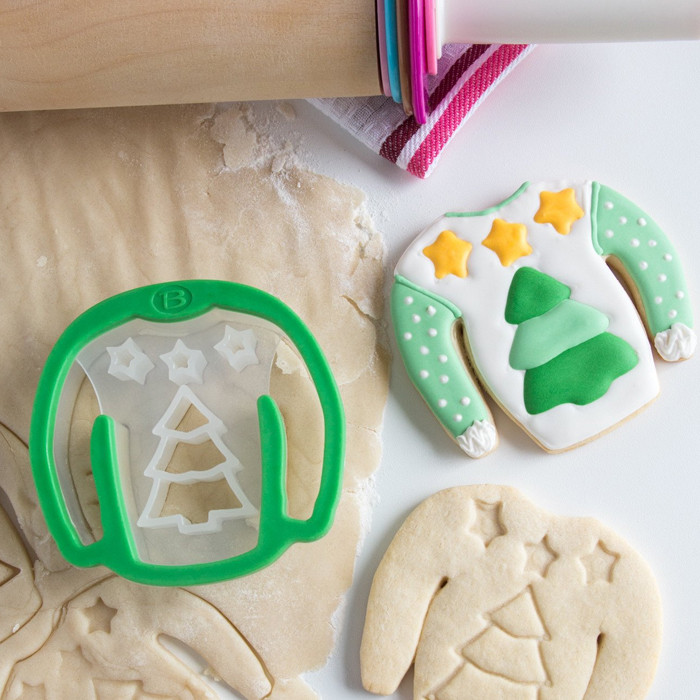 Ugly Sweater Cookie Cutter