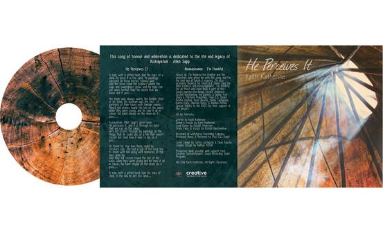 Kjelti Katherine - Album Cover Design