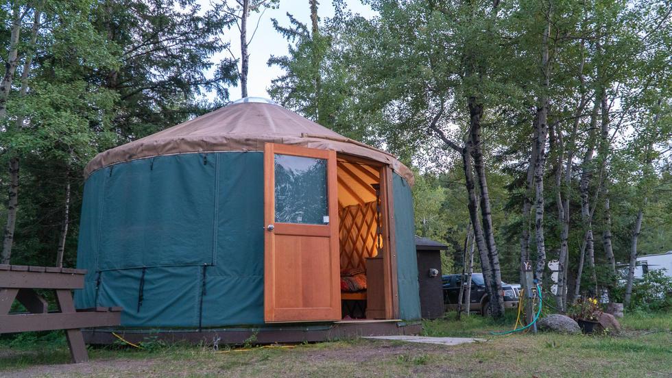 Small Yurt - $112.00/night
