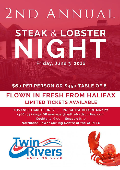 Curling Lobster Fundraiser