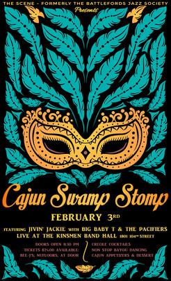 Cajun Stomp Romp Poster