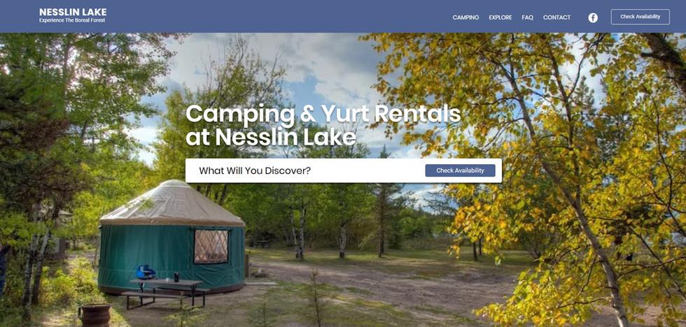 Nesslin Lake Campground