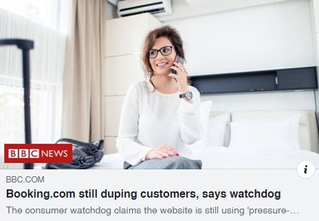 Booking.com still duping customers