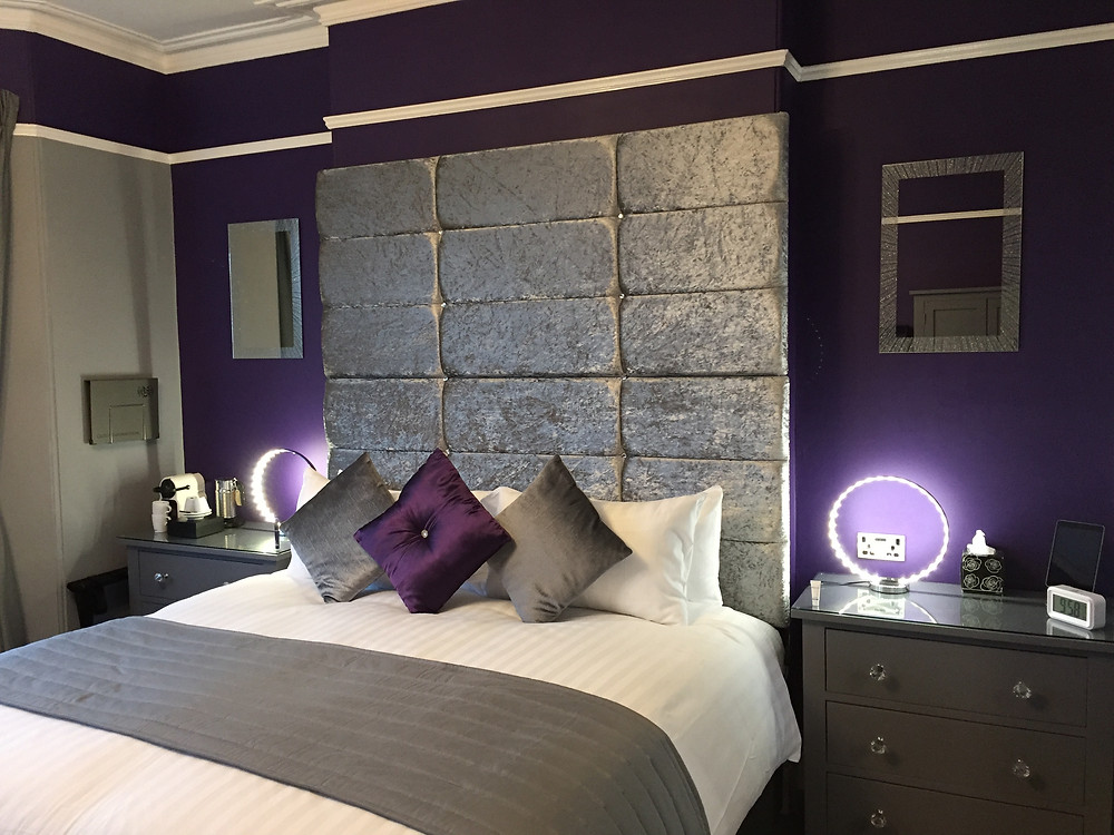 Broadsands room - one of six individually designed bedrooms