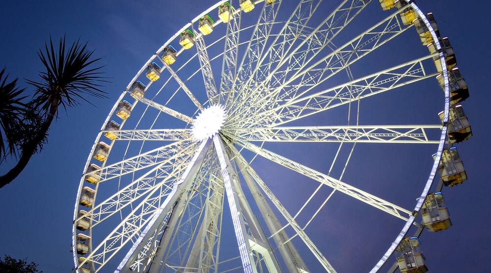 A big wheel ideal for seeing the sights from a height