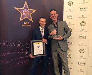 Winners - AA Unique B&B of the Year 2018