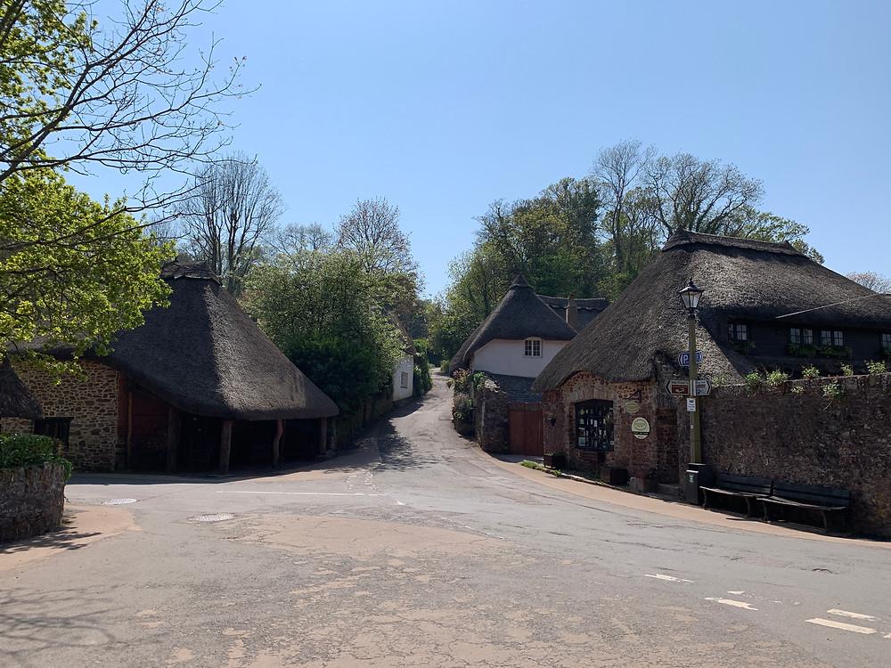 Go back in time in Cockington village