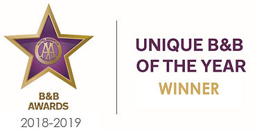 AA Unique B&B of the Year 2018
