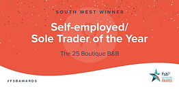 Self-employed / Sole Trader of the Year in the FSB Awards