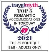 Top 5 Romantic Accommodation in Torquay